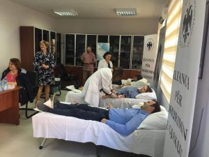The Commissioner for Protection from Discrimination and the Egyptian Community Joined President Meta's Call to Donate Blood