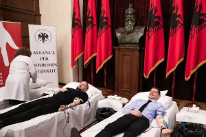 The Institution of the President of the Republic donates blood in the name of human solidarity