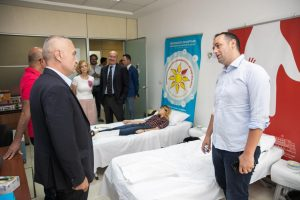 President Meta: Blood donation is an act of humanity that helps us save lives